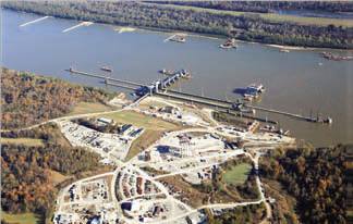 Olmsted Locks and Dam