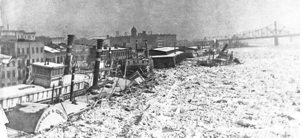Ohio River Ice 1918