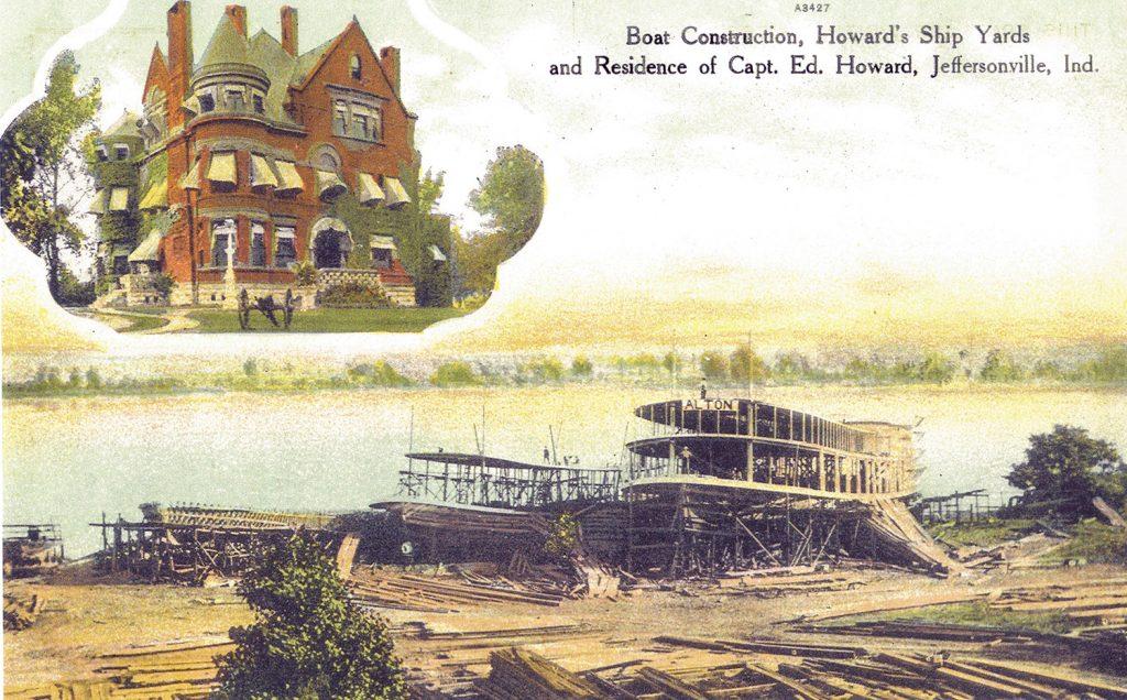 Howard Steamboat postcard