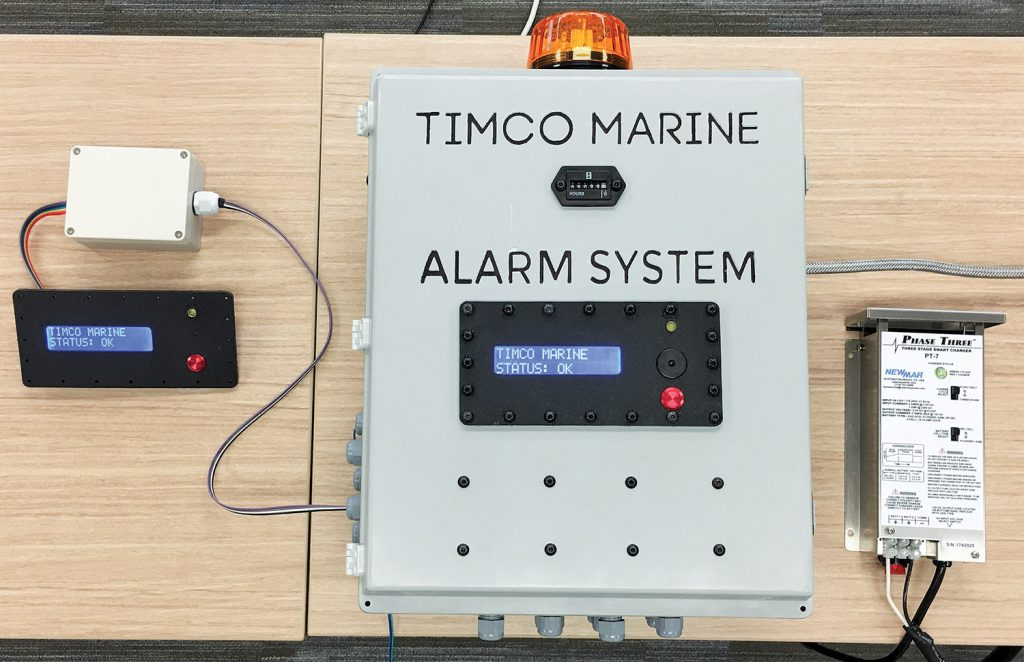 Timco towboat alarm system