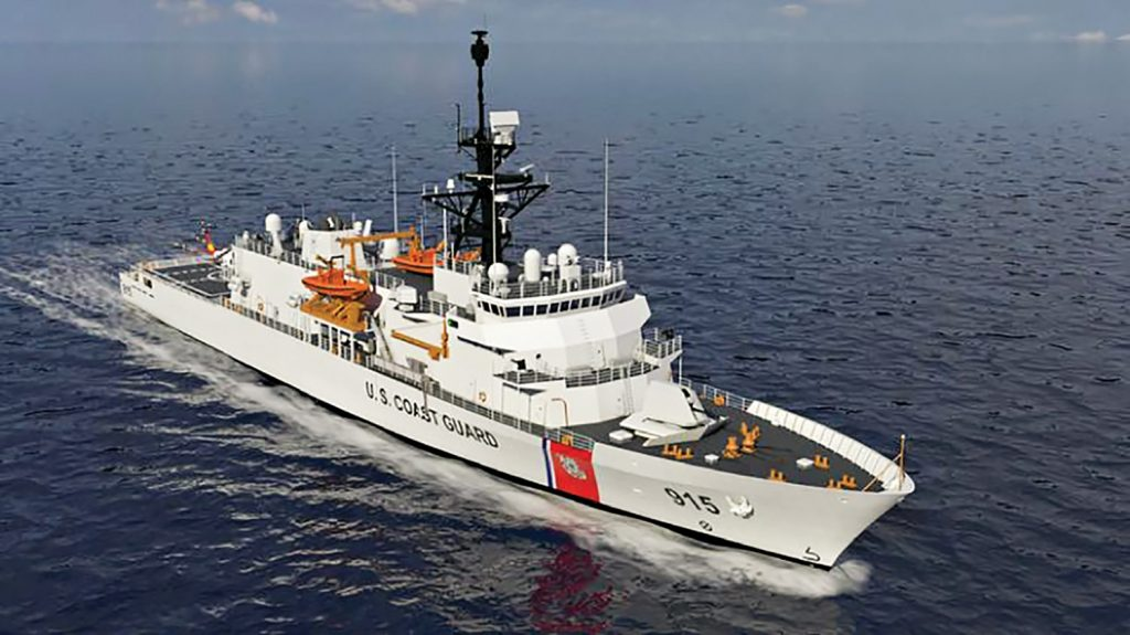 The Coast Guard's offshore patrol cutter.