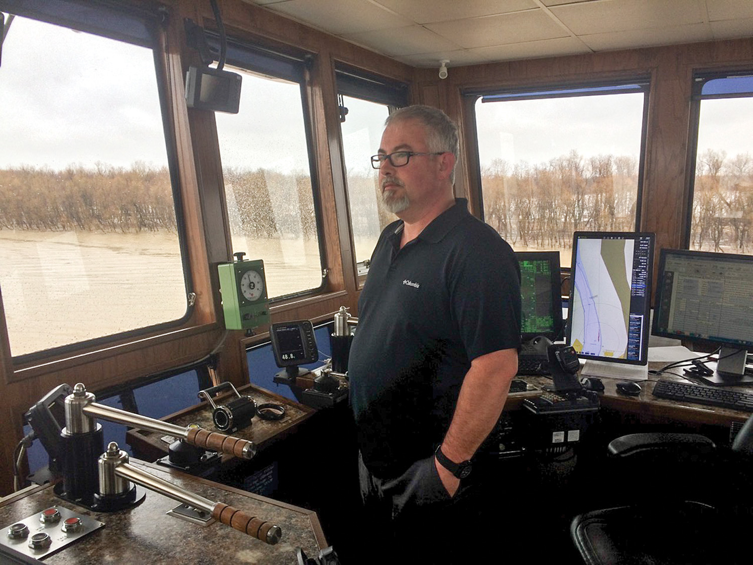 Captain Profile: Capt  Ty Wilkerson, Yazoo River Towing