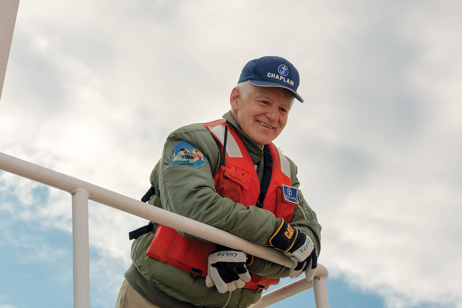 Chaplain Kempton Baldridge has been promoted to senior river chaplain for the Seamen's Church Institute.
