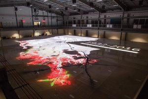 Digital projections in the model can depict a variety of scenarios.