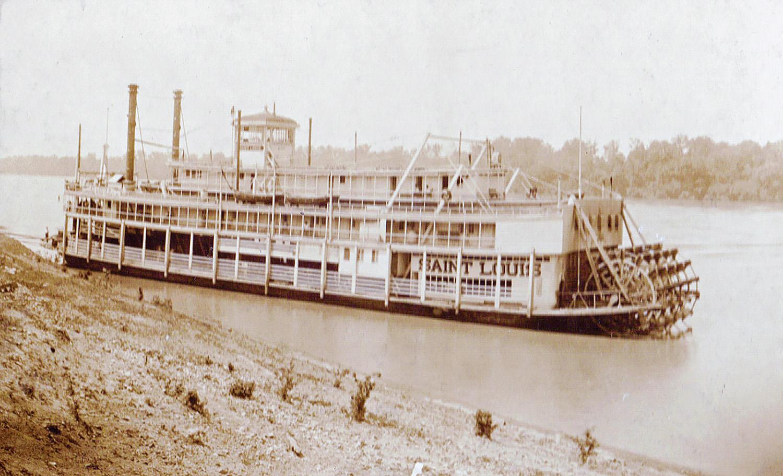 The Steamer Saint Louis