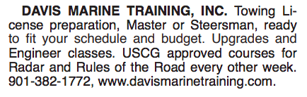 DAVIS MARINE TRAINING, INC.