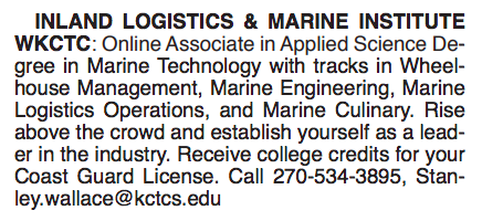 INLAND LOGISTICS & MARINE INSTITUTE WKCTC