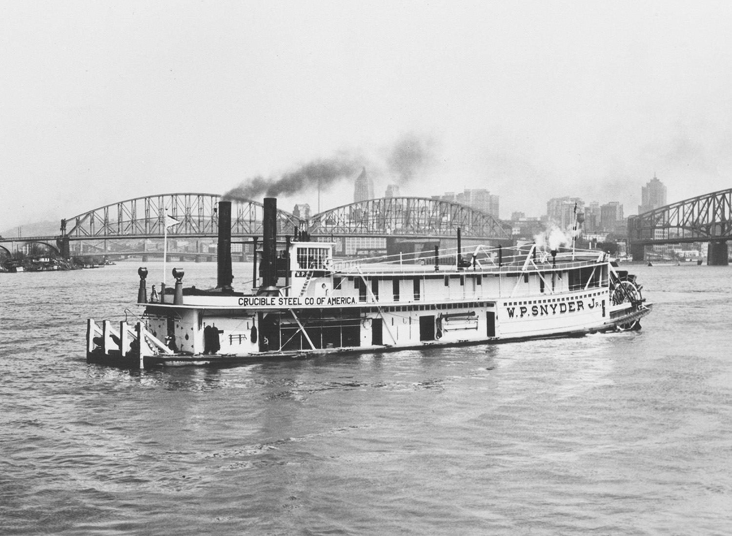 The W.P. Snyder at Pittsburgh.