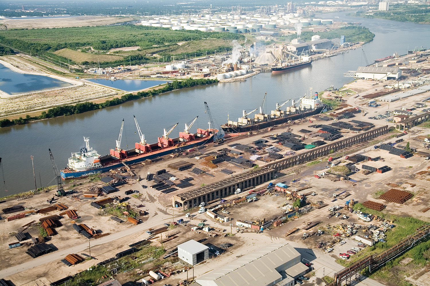 Watco Companies LLC, the owner and operator of Greens Port Industrial Park, located on the Houston Ship Channel, has acquired the assets of Industrial Terminals L.P. (Photo courtesy of Watco Companies LLC)