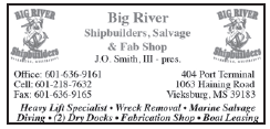 Big River Shipbuilders Salvage & Fab Shop (1 inch) Heavy Lift Specialist