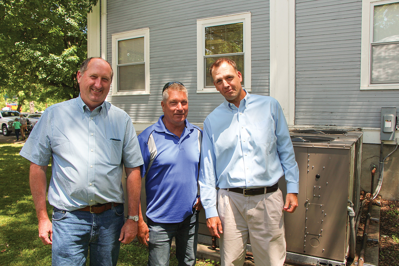 Bob Harrison, Jimmy Zubick and Robert McCoy.