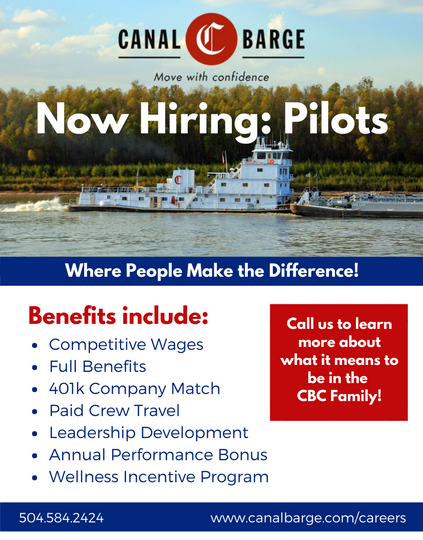 Canal Barge (Quarter) Pilots Wanted