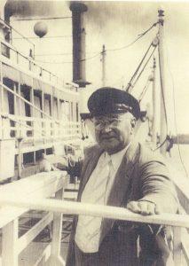 Capt. Buck Leyhe on Golden Eagle