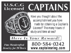 Captains Ring (2 inch) USCG Licensed Captains