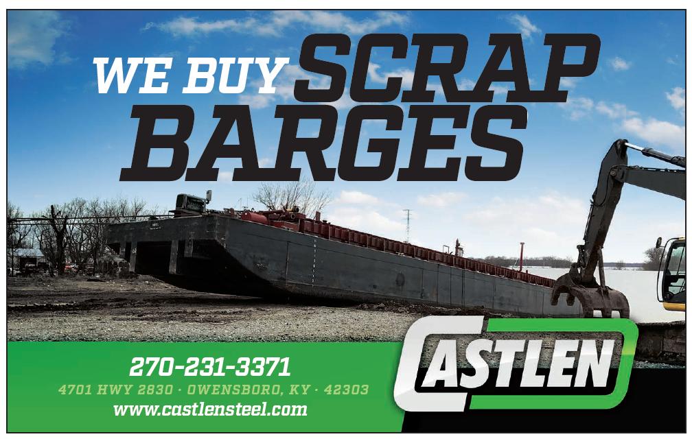 Castlen Steel (Half) We Buy Scrap Barges