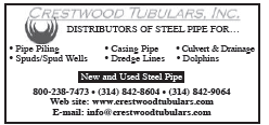 Crestwood Tubulars New & Used Steel Pipe