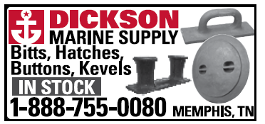 Dickson Marine Supply (1 inch) Bitts, Hatches, Buttons, Kevels