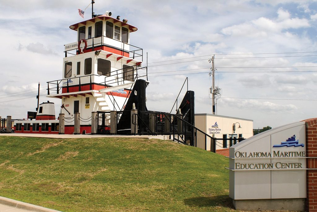 The retired towboat Charley Border is a popular exhibit in the port's Maritime Education Center.