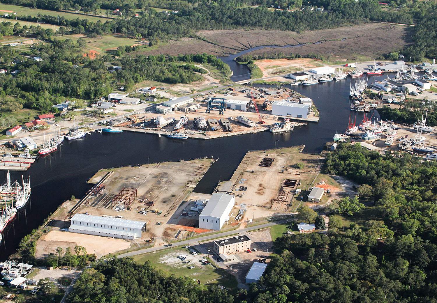 Metal Shark's new Alabama Shipyard. (Photo courtesy of Metal Shark)