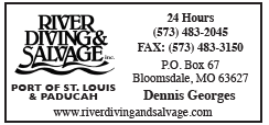 River Diving & Salvage (1 inch) Port of St. Louis & Paducah