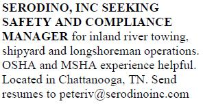 SERODINO, INC SEEKING SAFETY AND COMPLIANCE MANAGER