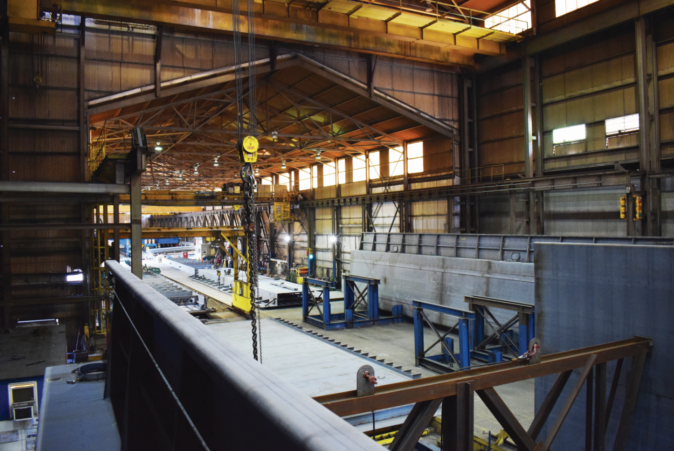 Heartland Fabrication recently started up a new 10,000-barrel tank barge build pro
