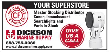 Dickson Marine Supply (1 inch) Searchlights