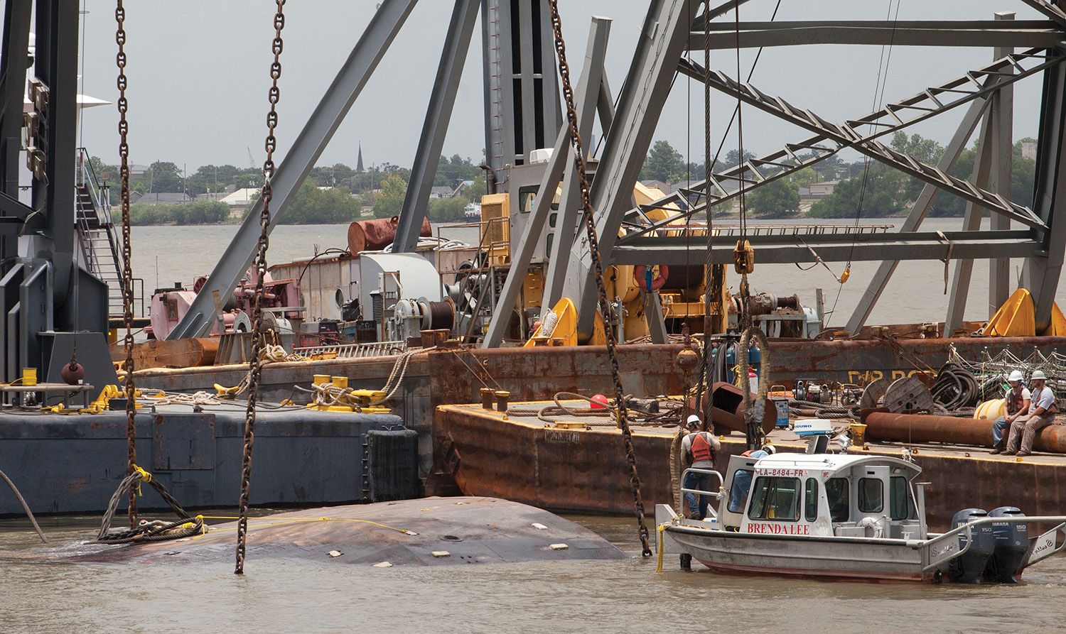 Towboat That Sank In March In New Orleans Raised