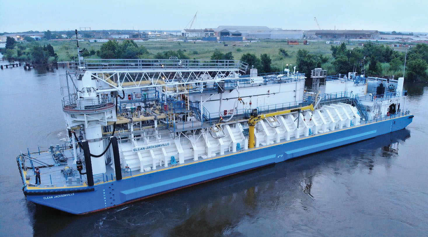 Conrad Delivers North America's First LNG Bunker Barge