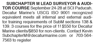 Subchapter M Surveyor Course