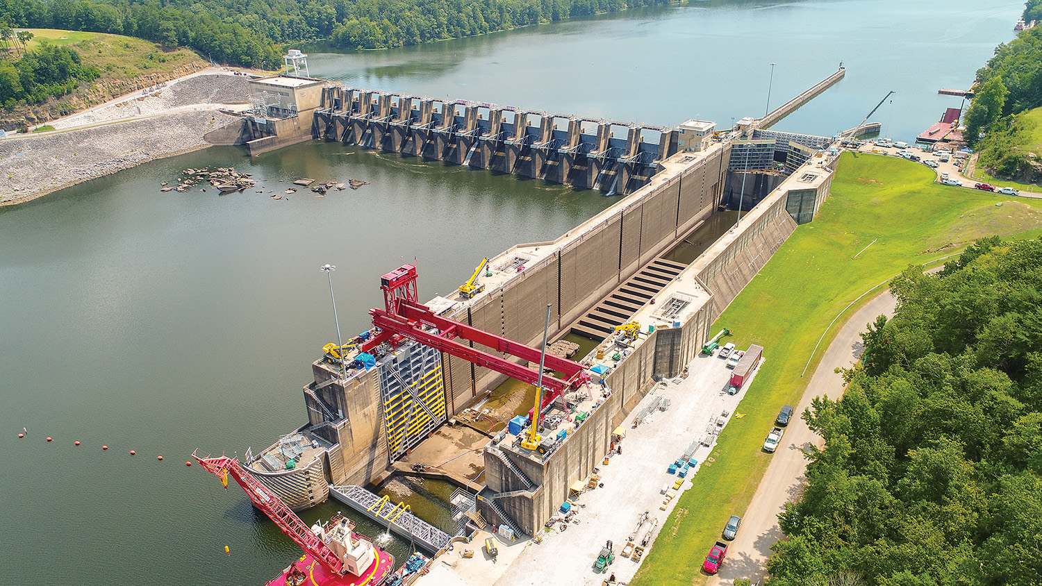 Corps Completes 34-Day Closure At Holt Lock And Dam
