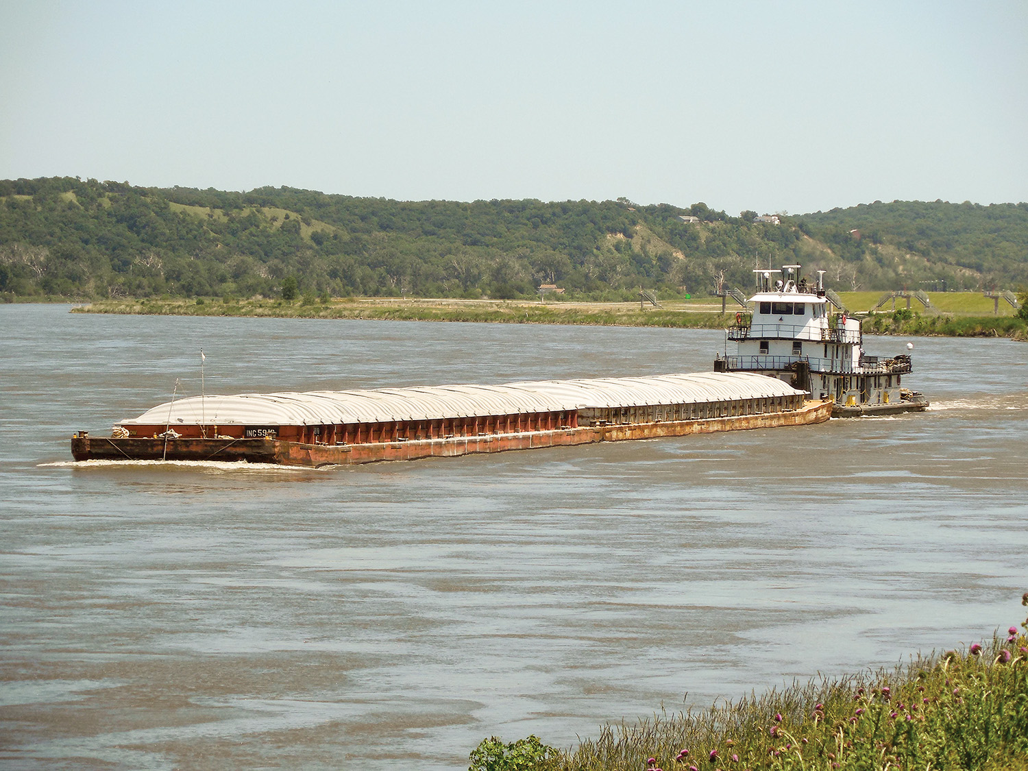 Cement Runs Return To Missouri River