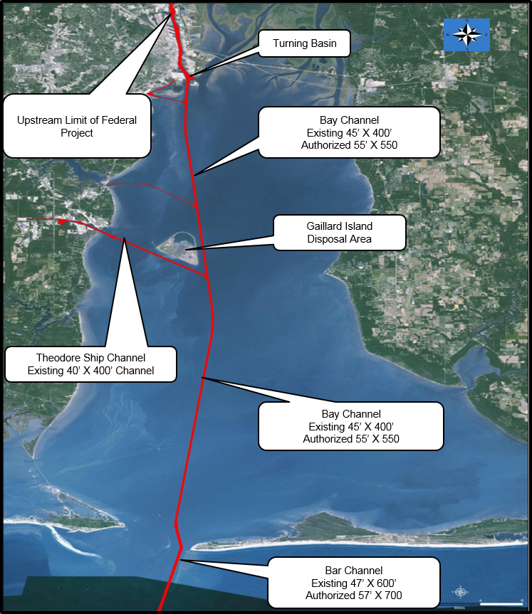 Corps Releases Plan For Mobile Harbor Deepening