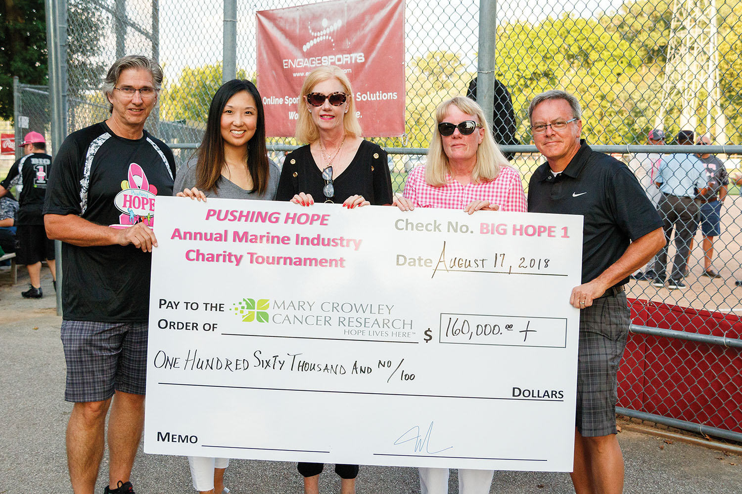 Big Hope 1 Tops $1 Million Raised For Cancer Research