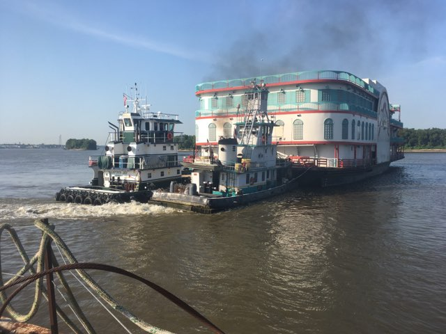 Seven Point Marine Tows Argosy IV To New Orleans
