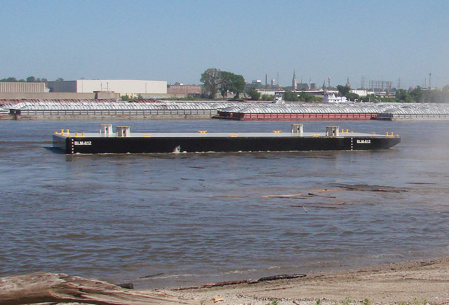 Eagle Fabrication barge launch