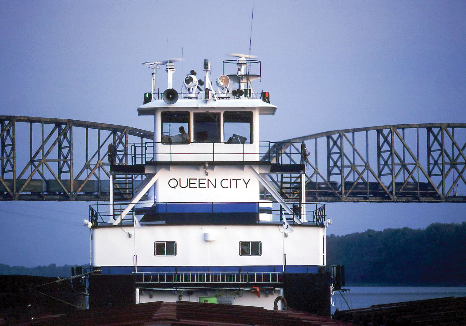 The first boat that IMS operated was the mv. Queen City, which IMS began operating on the Upper Mississippi River on May 31, 1988.
