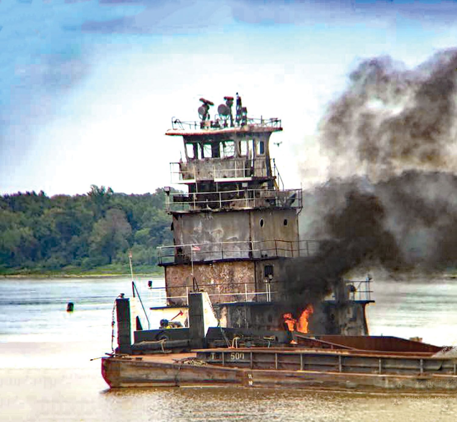 NTSB Reports On 2018 Towboat Fire