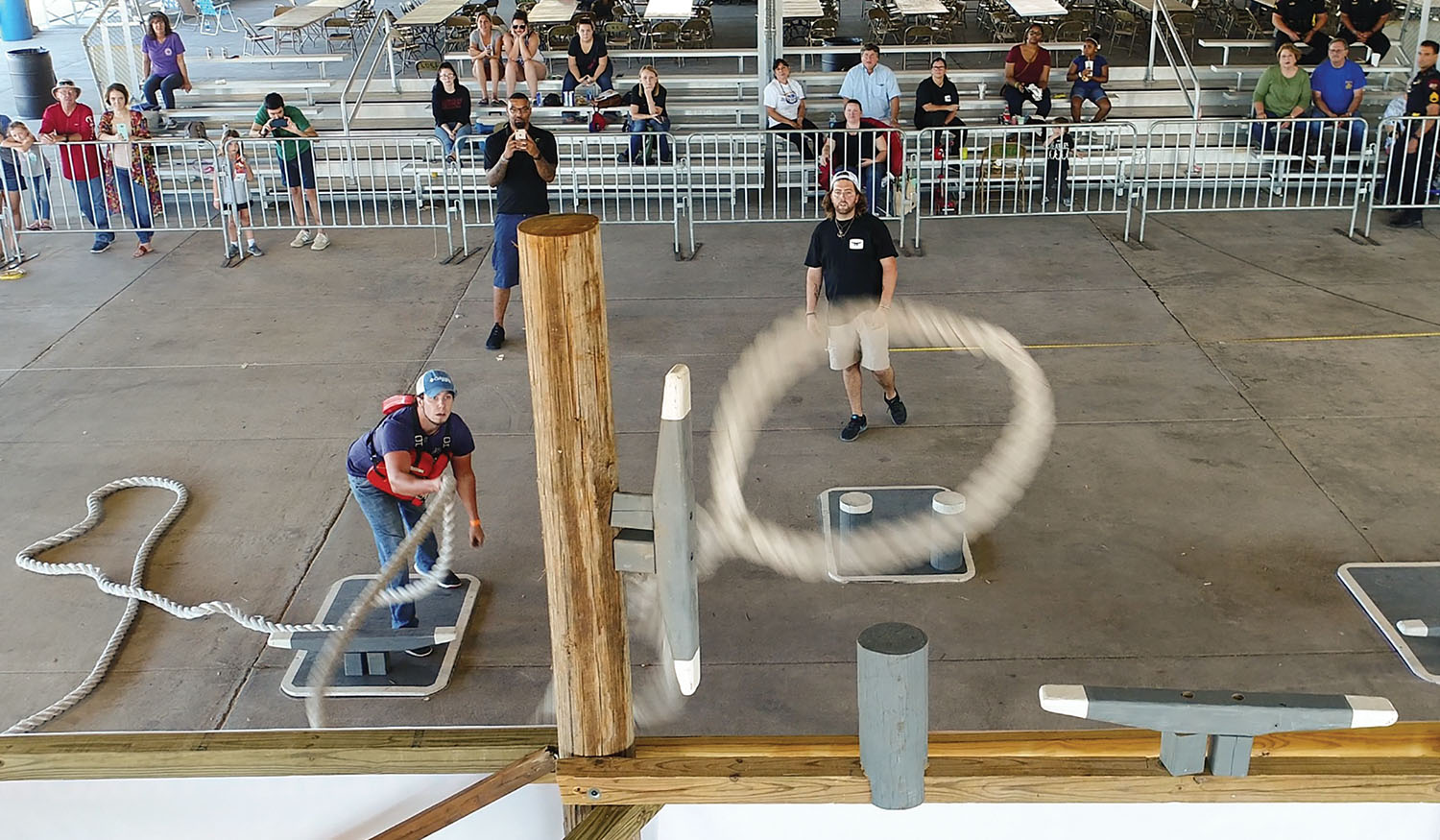 Maritime Throwdown Puts Line Skills, Safety On Display
