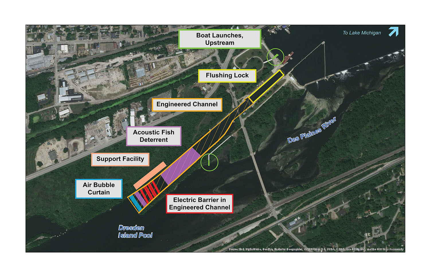 Corps Releases Final Preferred Plan For Brandon Road Lock