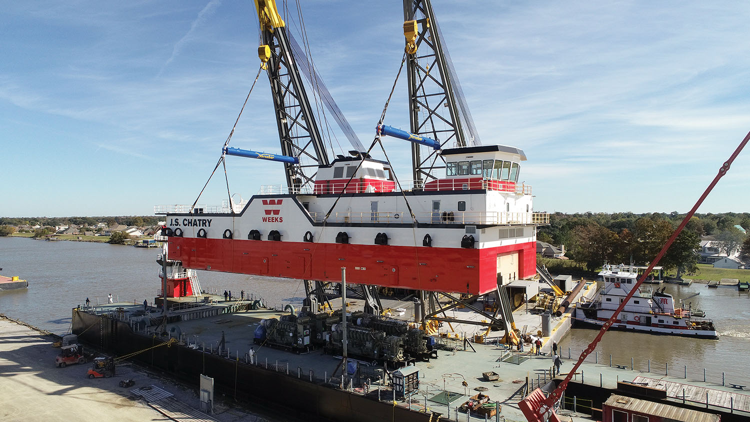C&C Places Superstructure On Forthcoming Weeks Dredge