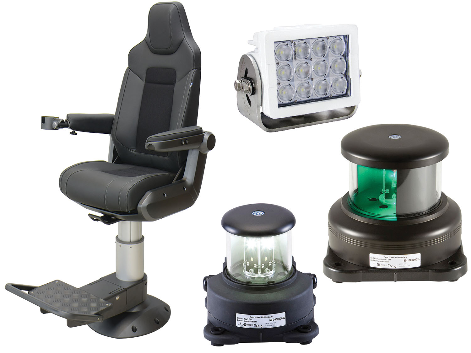 Imtra supplies a variety of products, from deck lights to pilot chairs.
