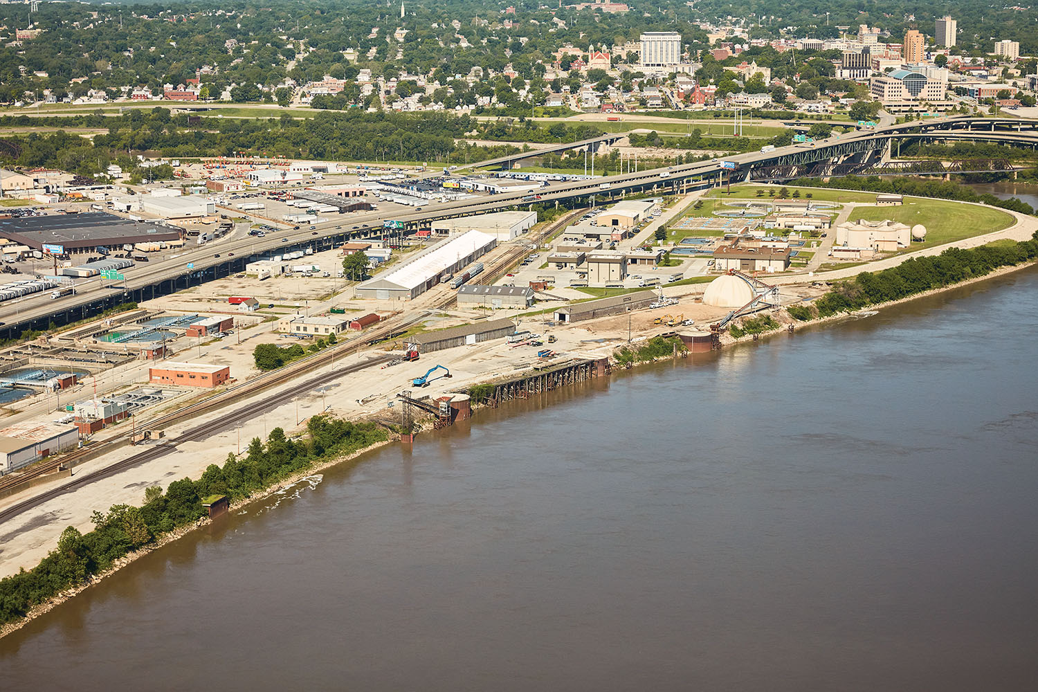 Port KC is expected to ship 189 percent more tonnage this year compared to 2017.