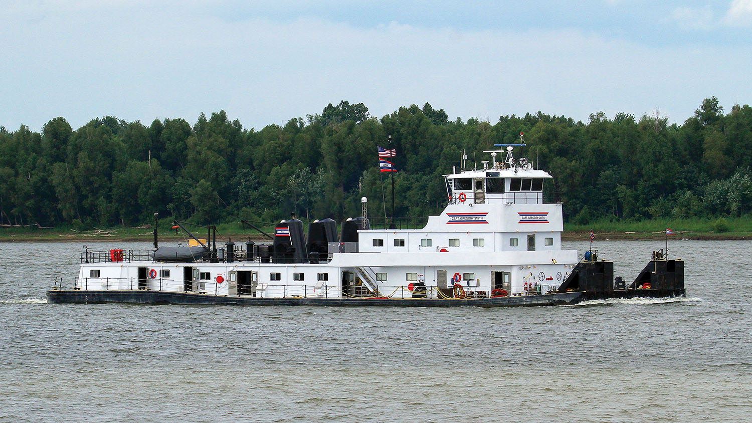 ACBL Rededicates Veteran Towboat