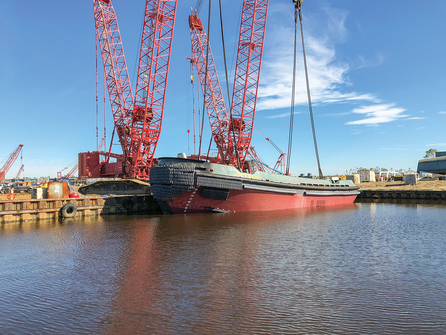 Eastern Shipbuilding Launches Tug