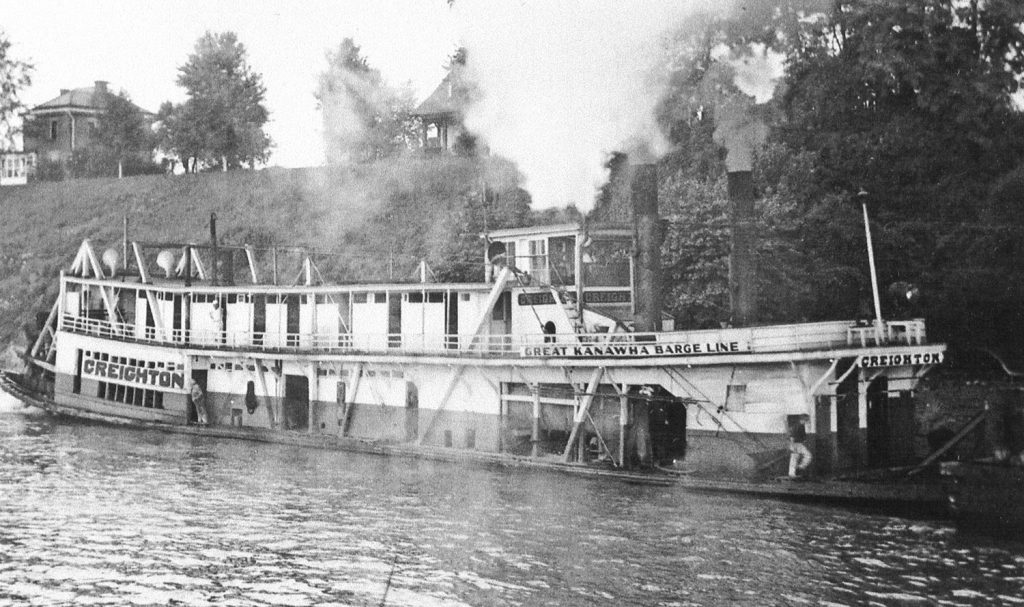 The Cavett after being rebuilt into the Creighton. (Keith Norrington collection)
