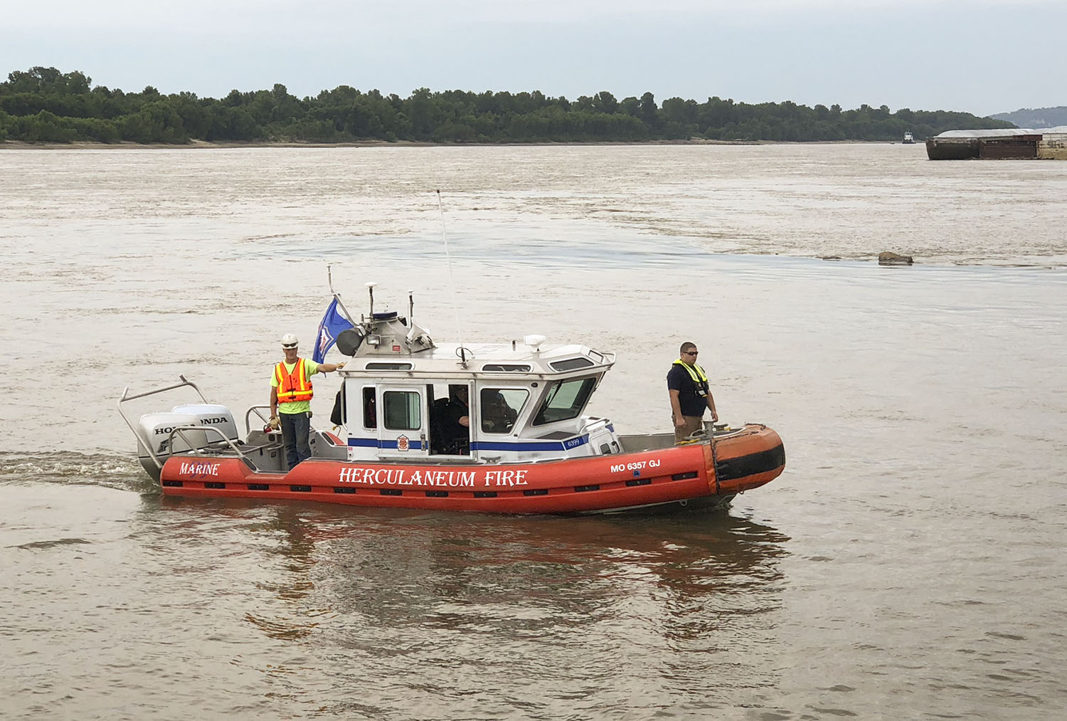 Two Mississippi River Ports In Missouri Get Fire, Safety Boats