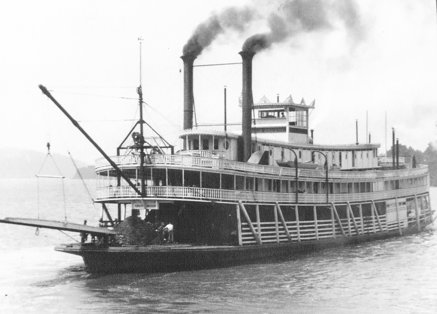 The second steamer Chris Greene. (Keith Norrington collection)
