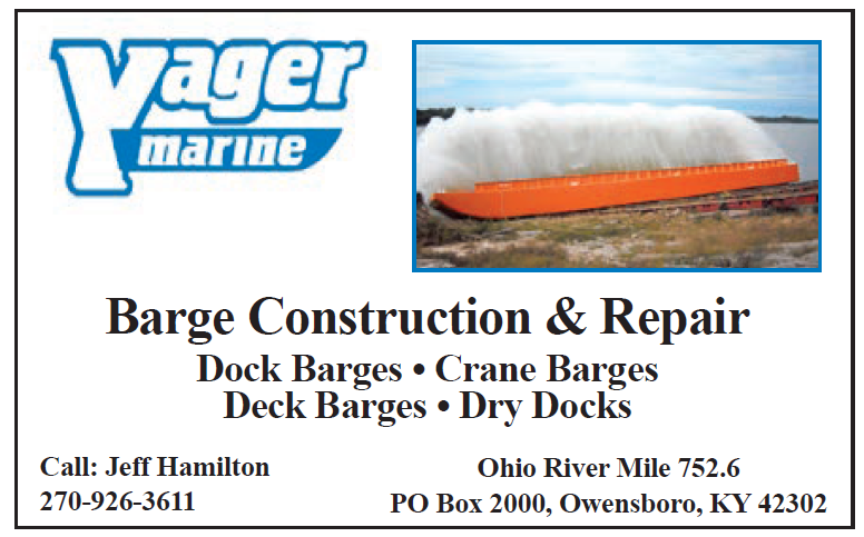 Yager (Eighth) Barge Construction & Repair