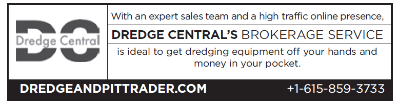 Dredge Central (2 inch) Brokerage Service
